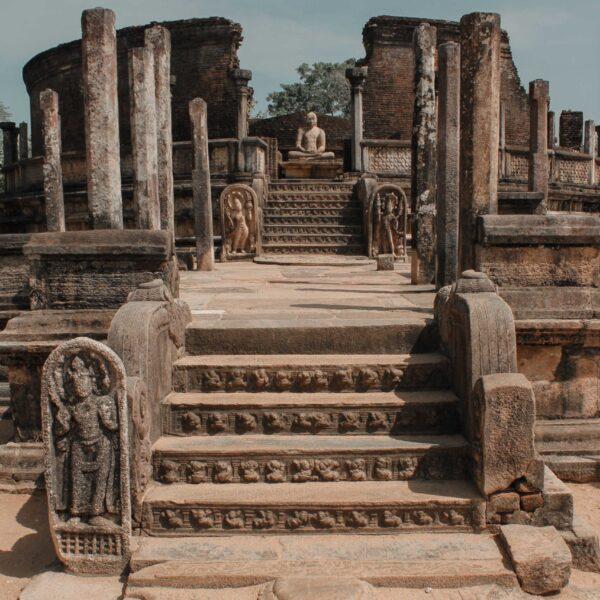 Polonnaruwa Ruins Exploration
